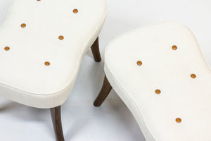 "Pair of ""Pragh"" stools by Ib Madsen & Acton Schubell"