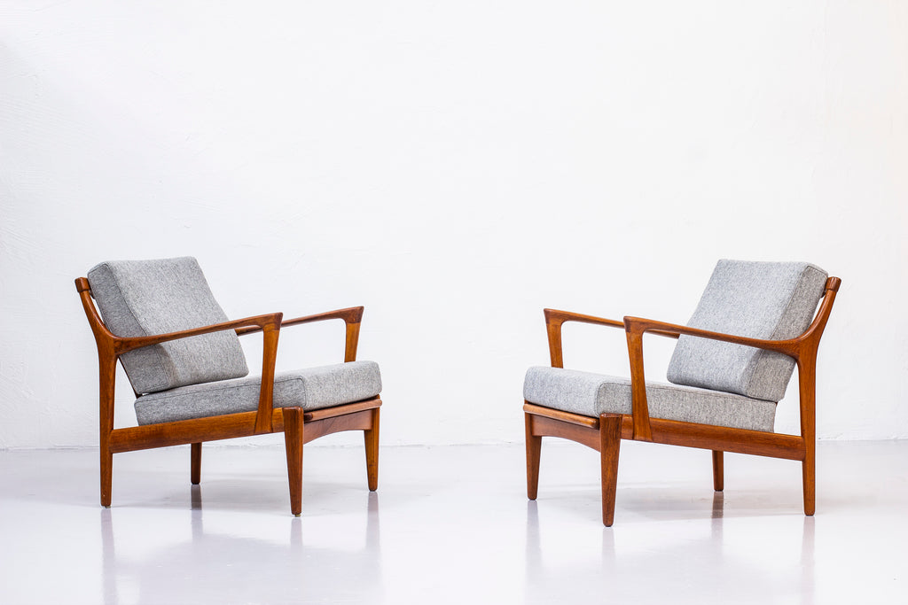 "Pair of ""Kuba"" lounge chairs by Bertil Fridhagen"