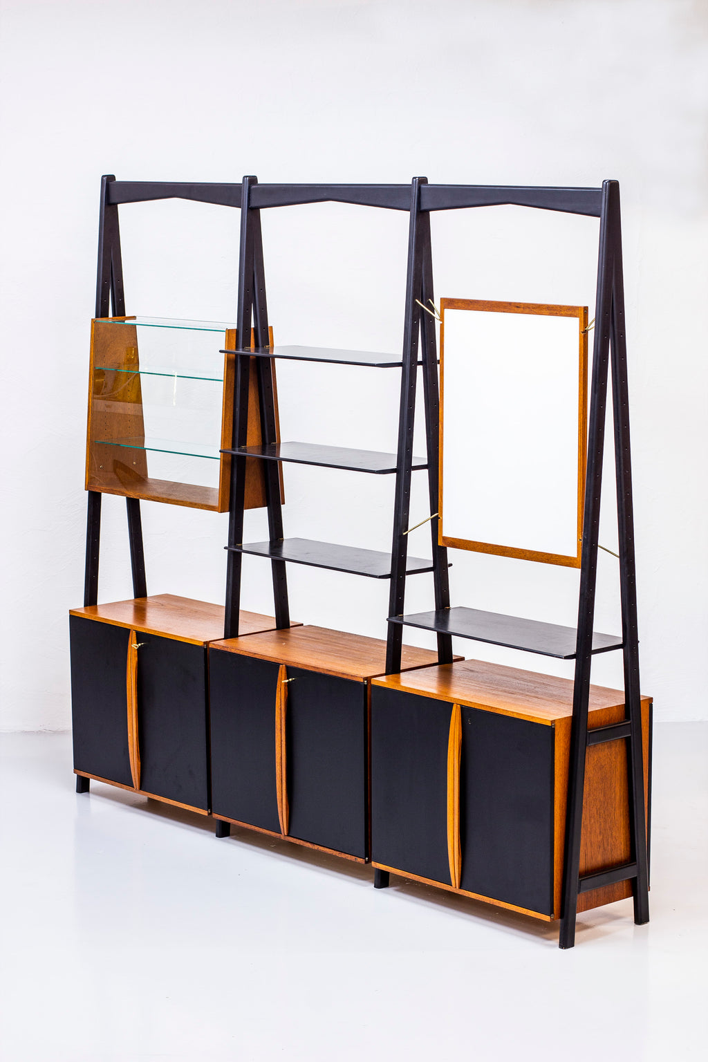 "Rare ""Futura"" bookshelf by David Rosén"