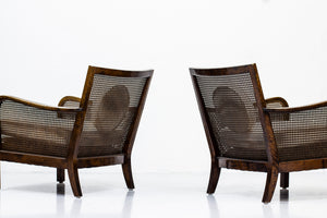 Lounge chairs attributed to Otto Schulz