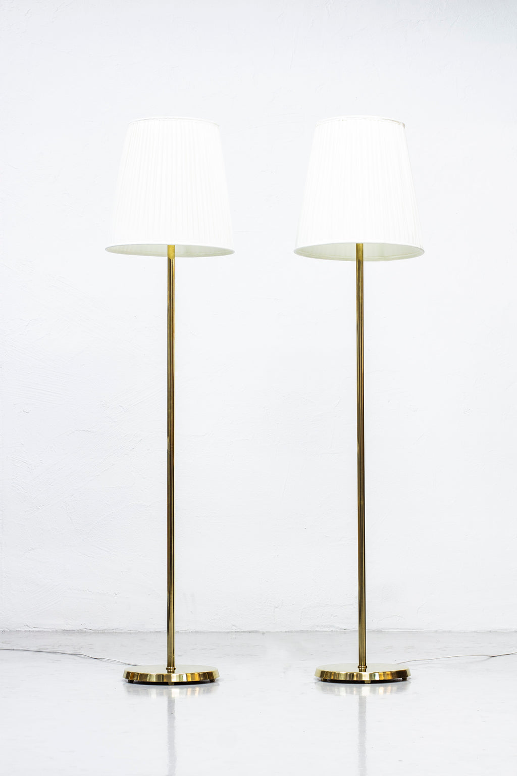 1950s floor lamps by ASEA