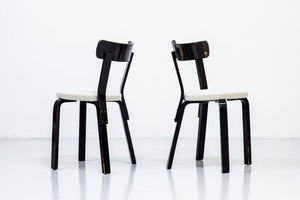 Set of chairs by Alvar Aalto