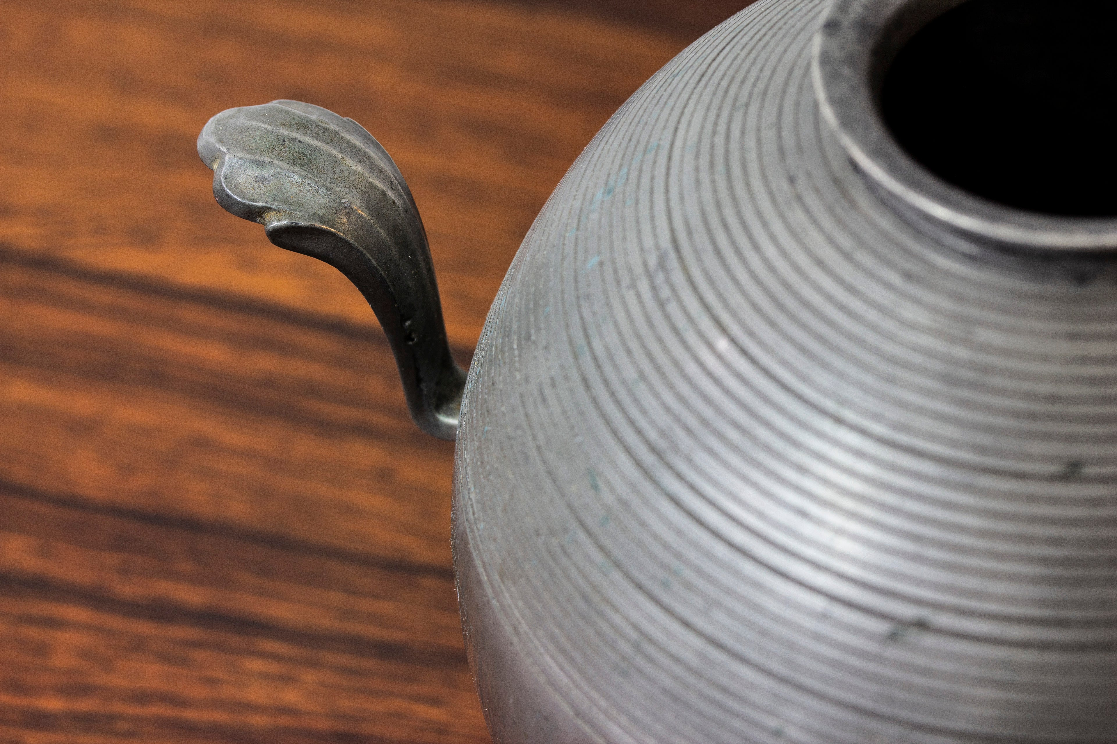 Pewter vase by Sylvia Stave