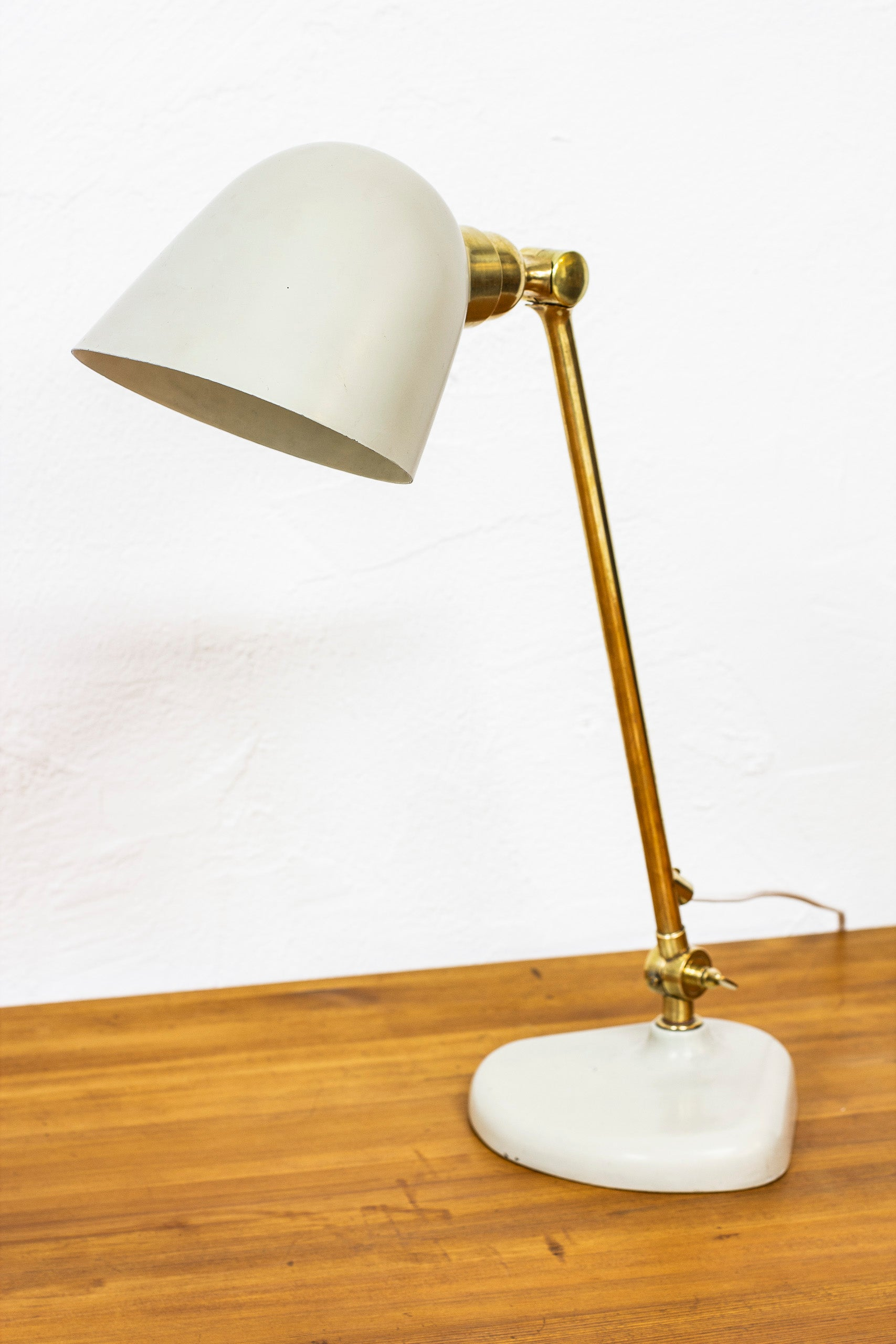 Rare table lamp by Bertil Brisborg