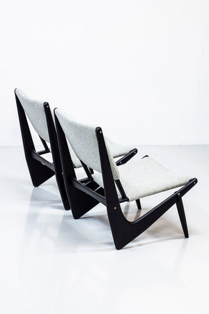 """Presens"" lounge chairs by Bertil Behrman"