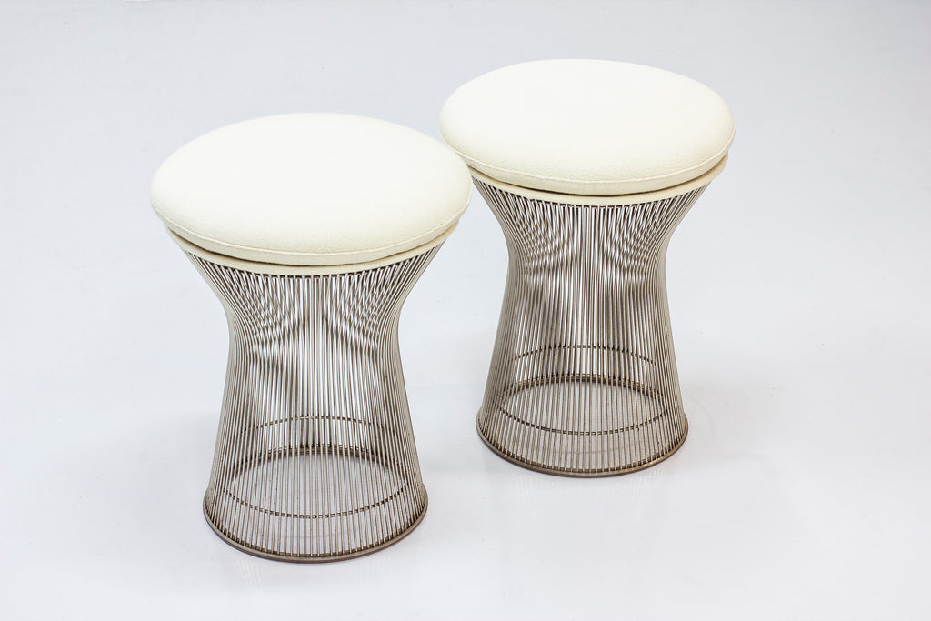 Pair of stools by warren Plattner