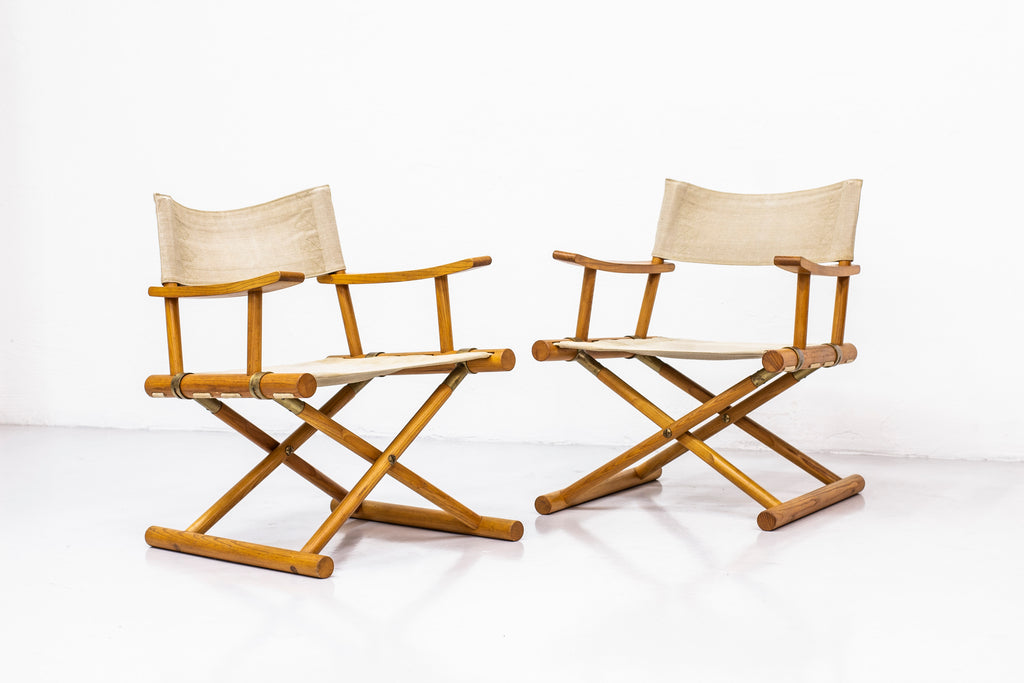 Safari chairs by Sune Lindström for NK