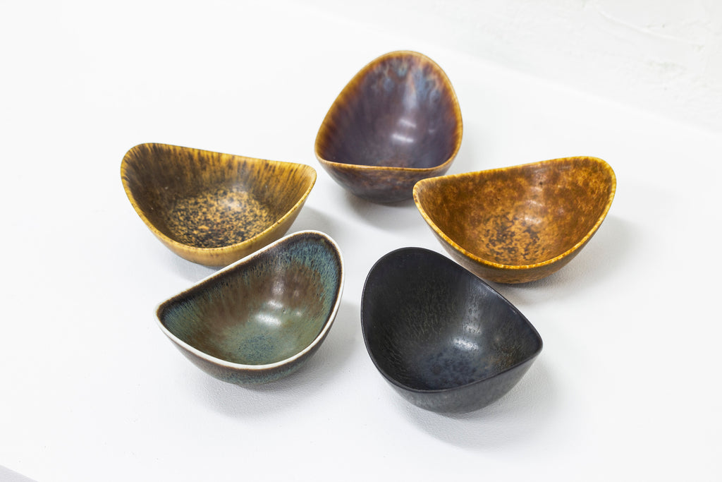 Set of bowls by Gunnar Nylund