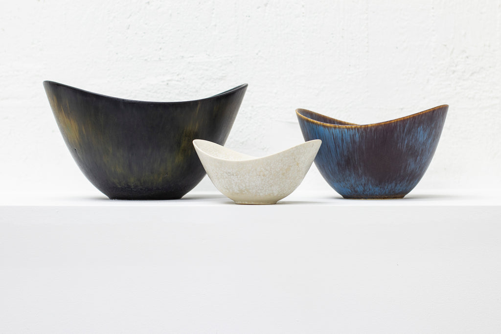 Set of three bowl by Gunnar Nylund