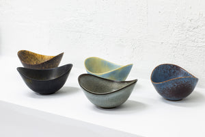 Set of five bowls by Gunnar Nylund