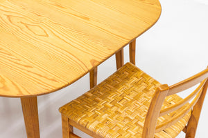 "Pine ""Sportstuge"" table by Carl Malmsten"