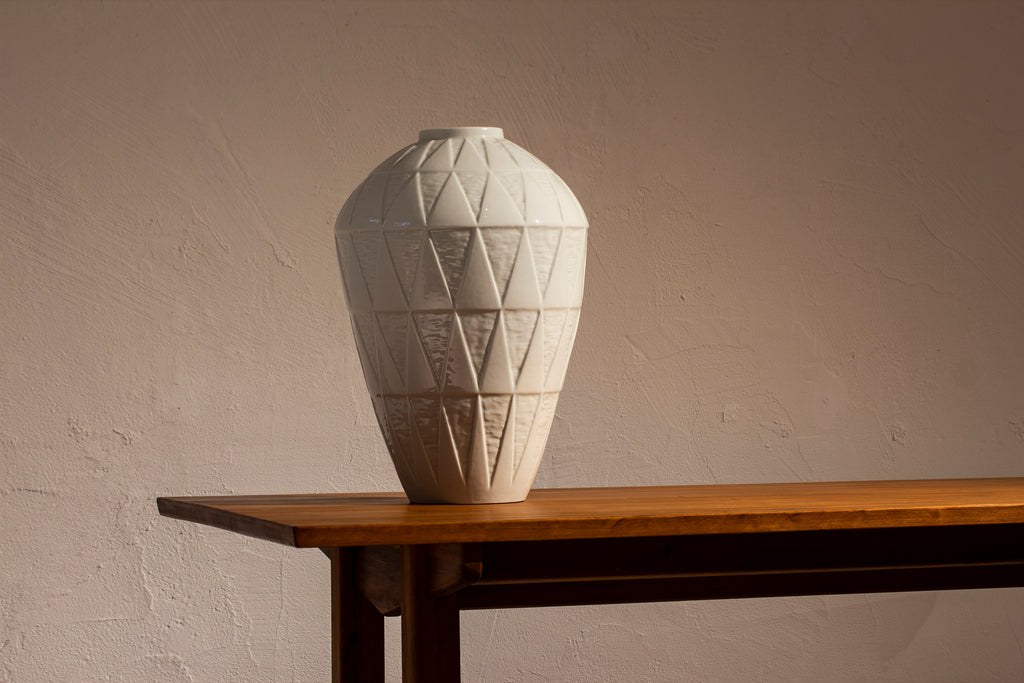 Large vase by Hertha Bengtsson