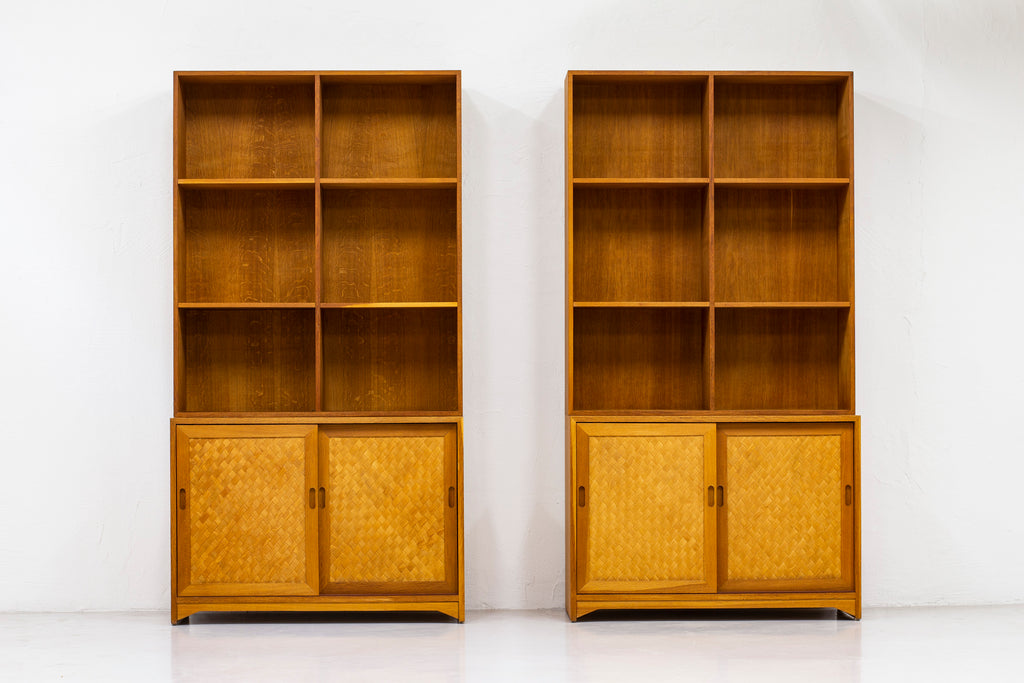 Rare bookcases by Alf Svensson