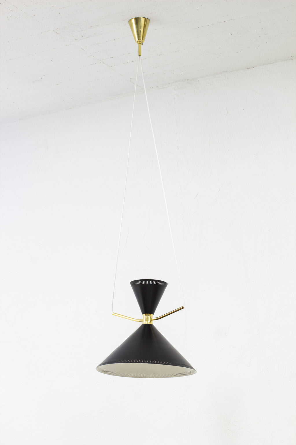 """Diabolo"" ceiling lamp by Fog & Mørup"