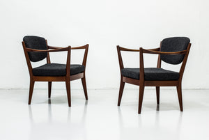 "Pair of ""Kaminstolen"" by Kayser & Relling"