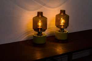 Pair of table lamps by Hans Agne Jakobsson