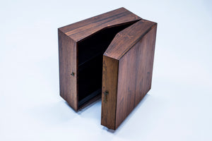 Mini dry bar cabinet by Rosengren Hansen