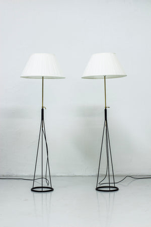 Pair of floor lamps by Eje Ahlgren