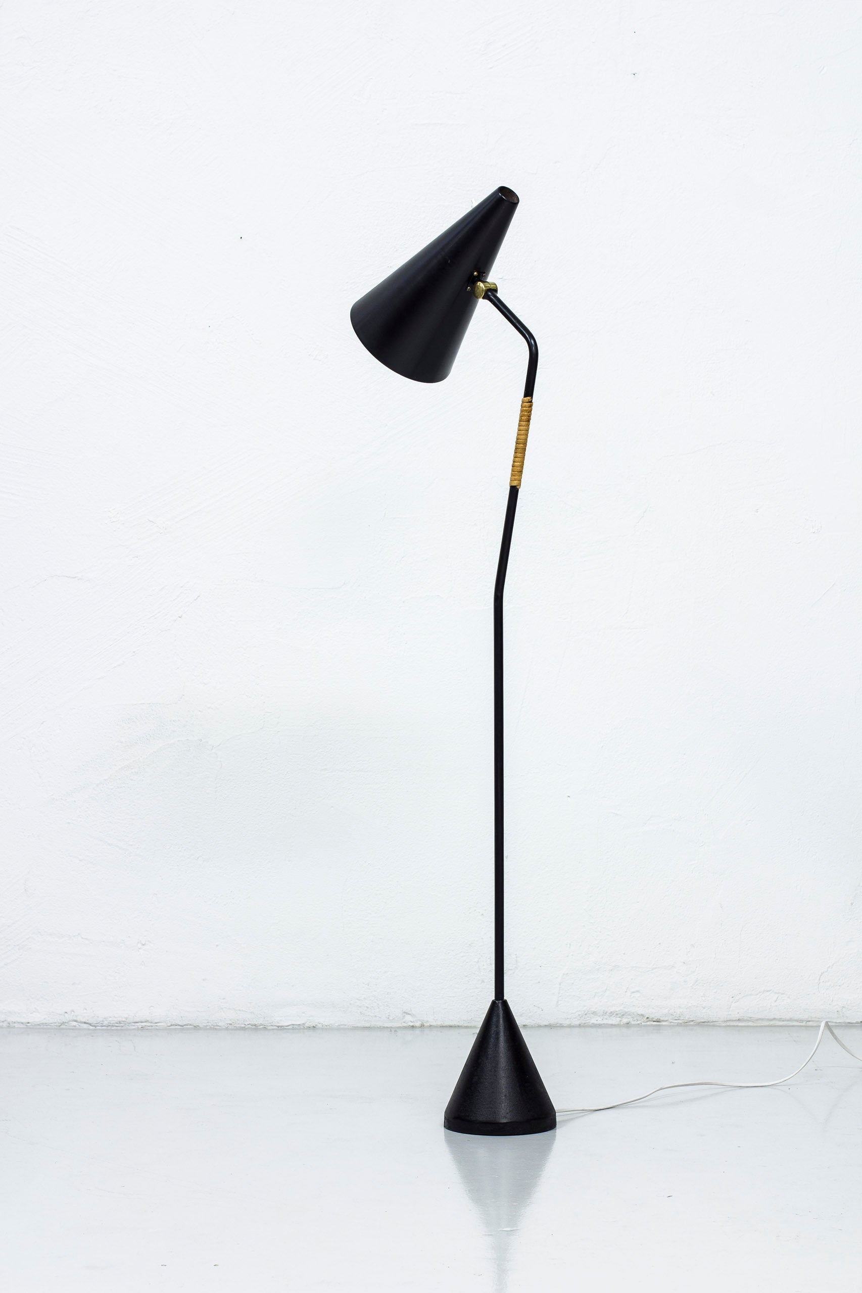 Swedish floor lamp from the 1950s