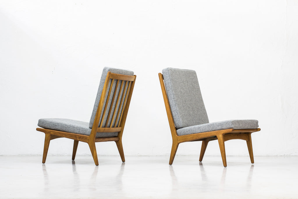 Easy chairs by Karl Erik Ekselius