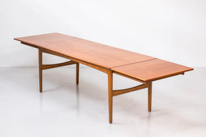 Danish dining table by Knud Andersen