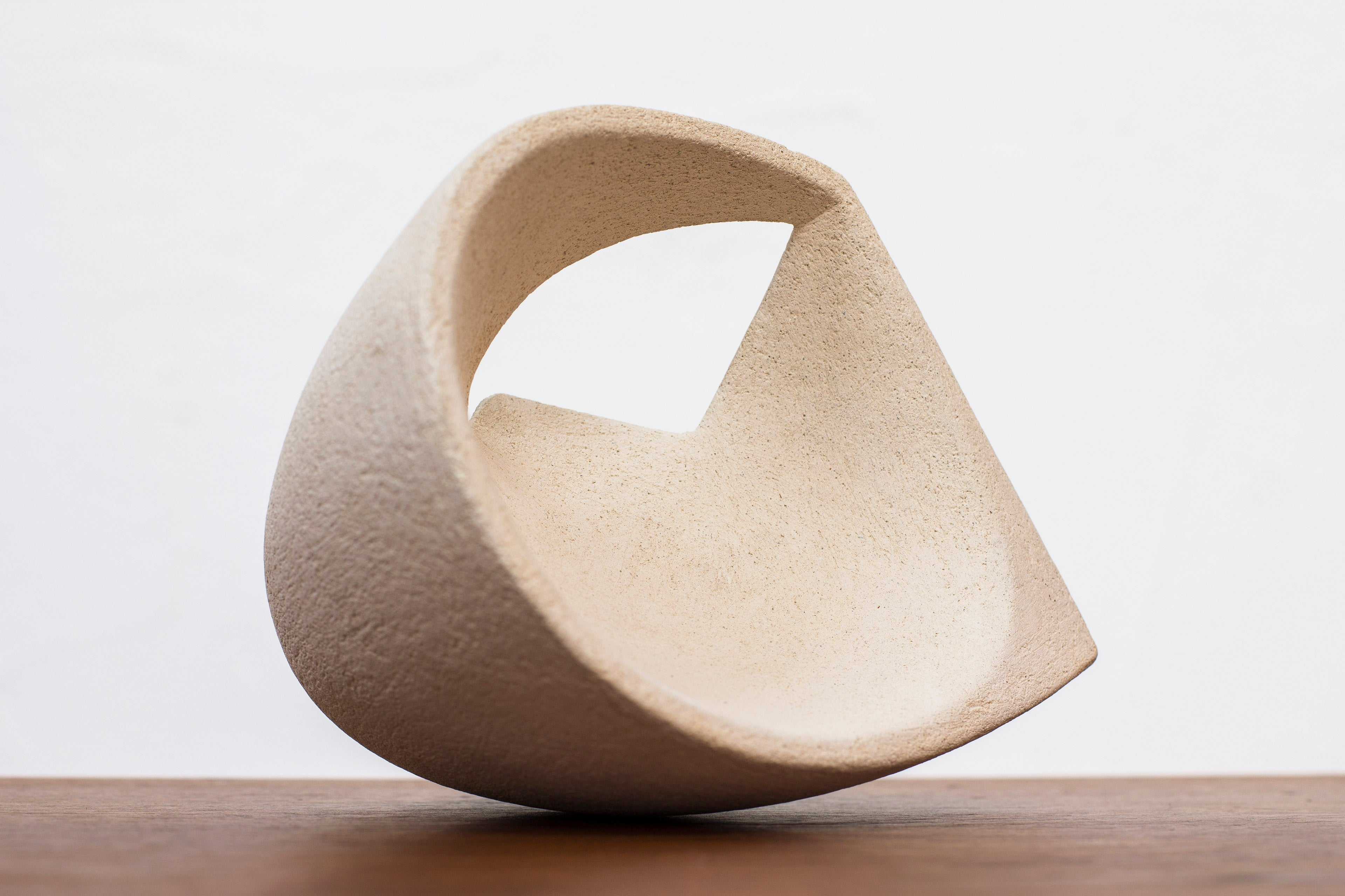 Stoneware sculpture by Lars Marklund