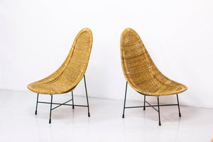 "Pair of ""Kraal"" chairs by Kerstin Hörlin Holmqvist"