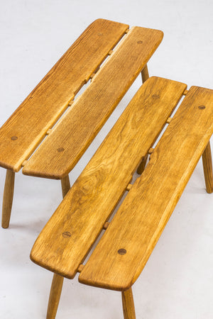 Benches by Carl Gustaf Boulogner