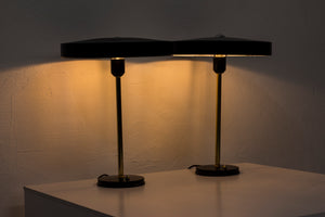 Table lamps by Louis Kalff for Philips