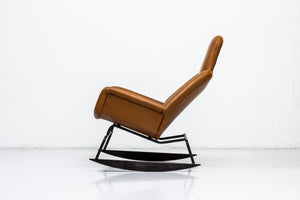 """Moderno"" rocking chair by Yrjö Kukkapuro"