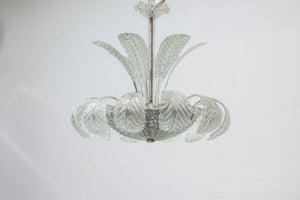Chandelier by Fritz Kurz for Orrefors