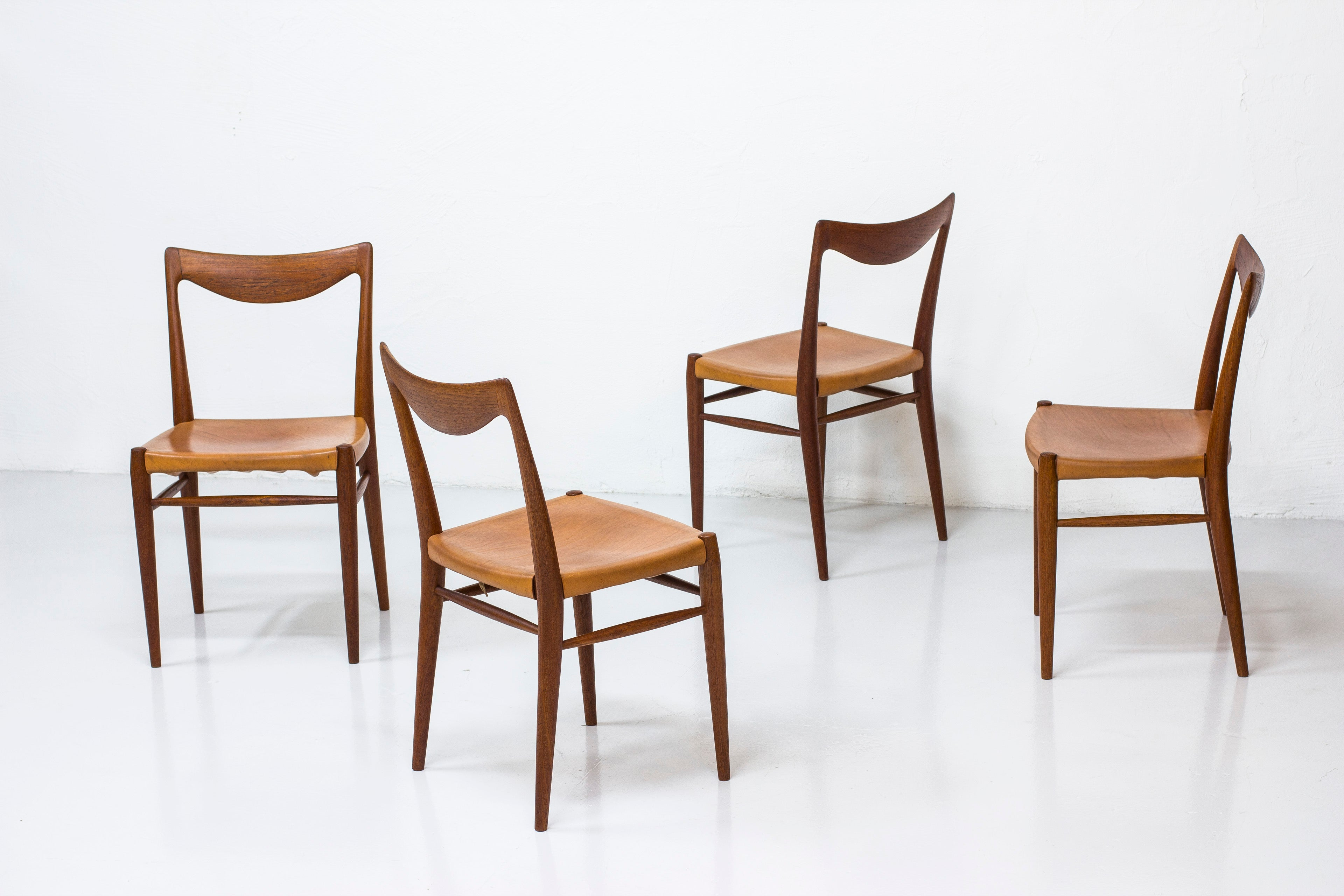 """Bambi"" dining chairs by Rastad & Relling"