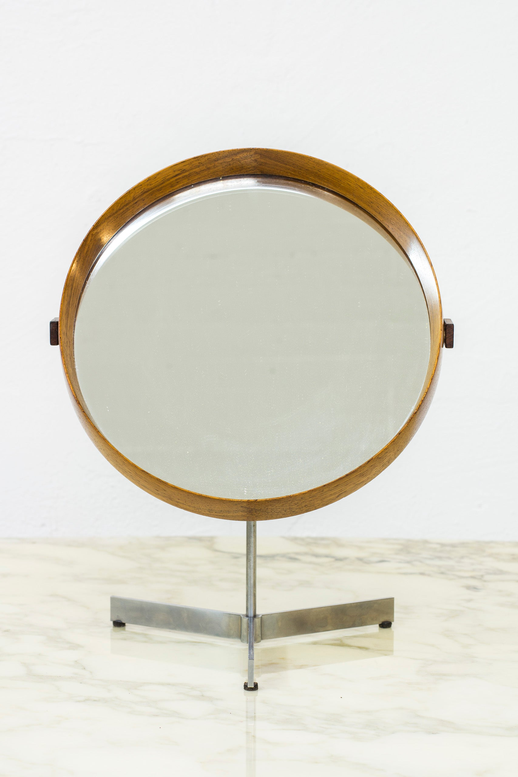 Swedish Table mirror by Luxus