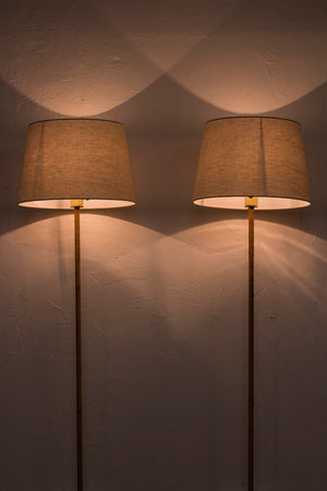 Swedish Floor lamps by Bergboms