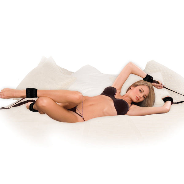 Bed Buckler Tether & Cuff Restraint System