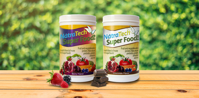 Why is NatraTech Super Food™ so Good for Seniors?