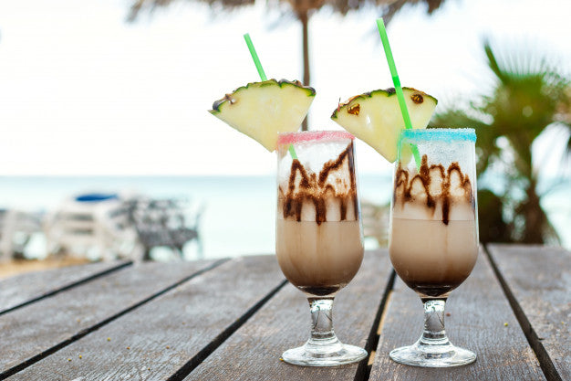 Chocolate Piña Colada