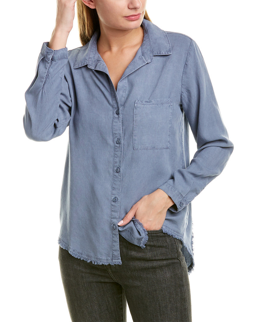 Frayed Shirt Button Down