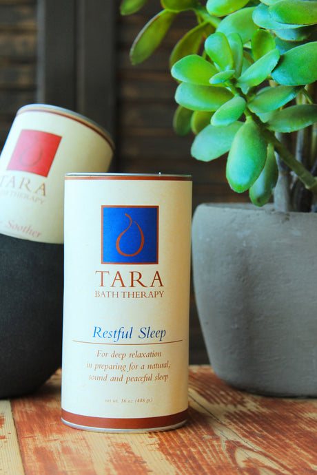 Tara Spa Therapy Salt in a variety of focuses: Immune Booster, Muscle Soother, & Restful Sleep