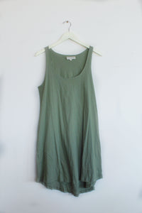 Lily's Favorite Matcha Tank Dress