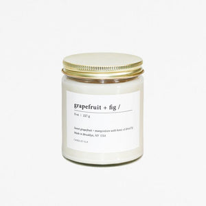 Tumbler Soy Candle - Grapefruit Fig