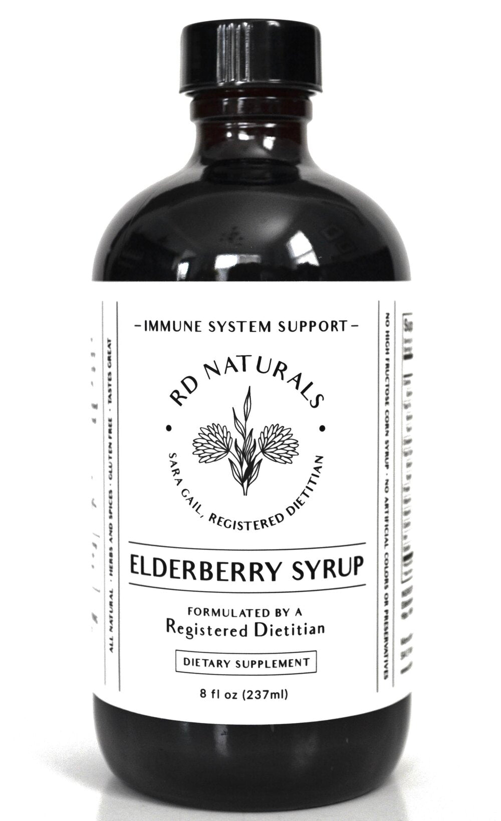 RD Elderberry Syrup