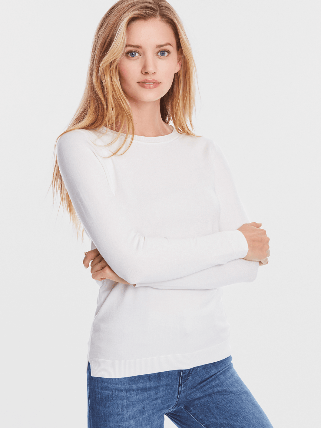 Cashmere Seam Sweater
