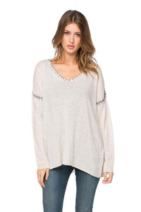 Whitney V-Neck Sweater