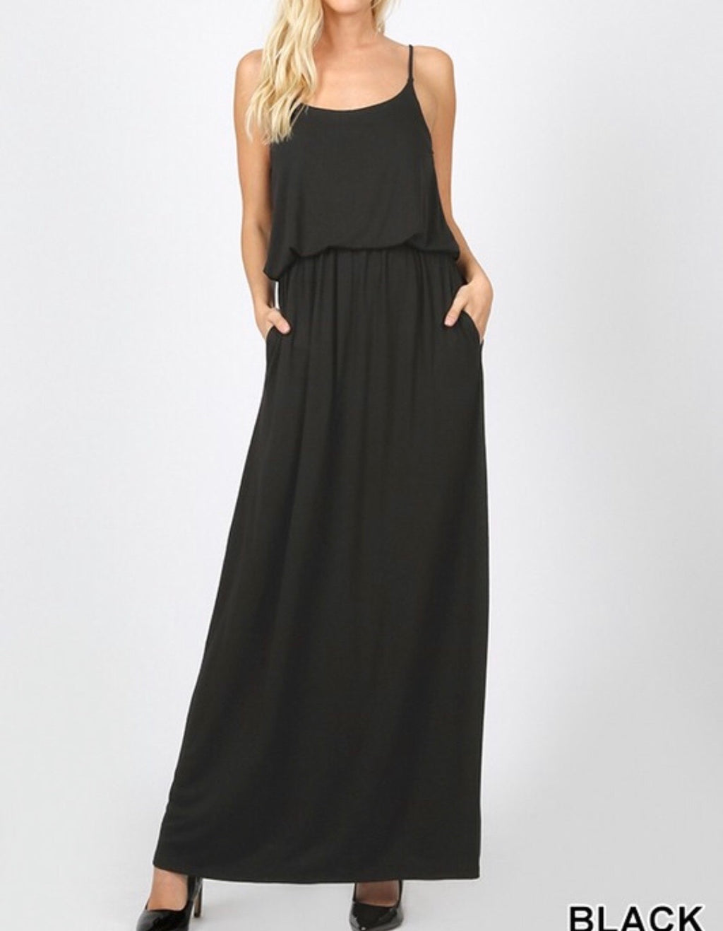 The Cinch Waist Maxi