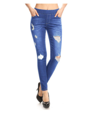 Distressed Jegging