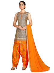 Harleen Patiala Suit