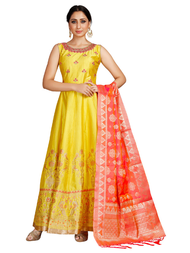 Zara Anarkali Suit