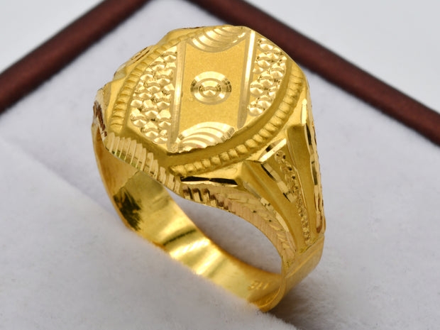 22ct Gold Mens Ring