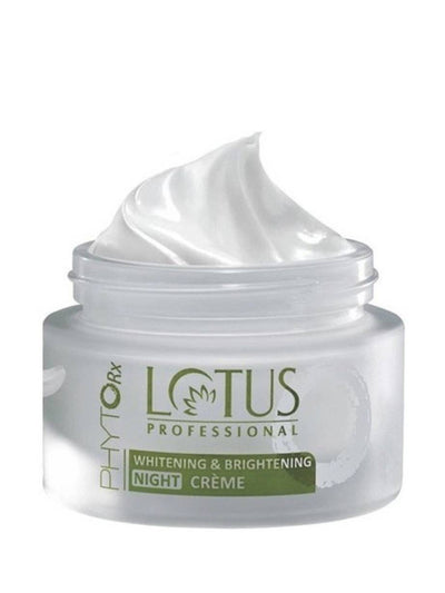 Lotus Professional Phyto-Rx Whitening & Brightening Night Creme 50gm